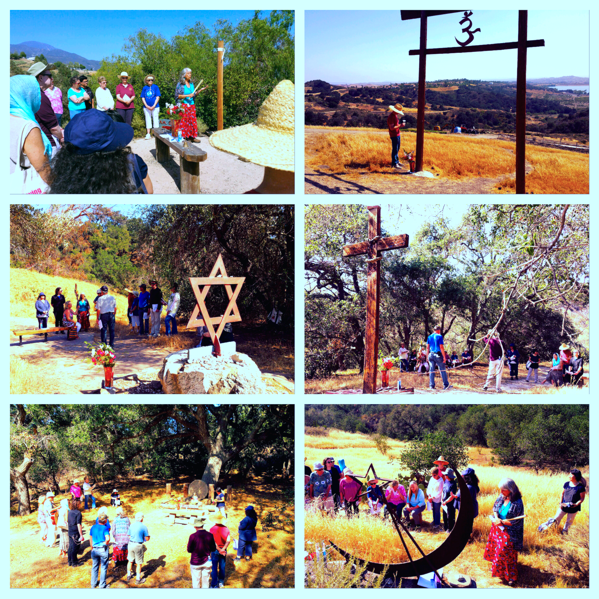 RKM Interfaith Shrine Walk 5-3-15